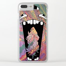 Grand-Daddy Purp Clear iPhone Case