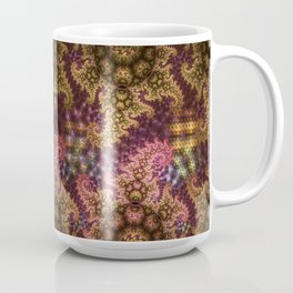 Dragon dreams, fractal pattern abstract Coffee Mug