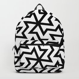 Geometric arabic pattern Backpack