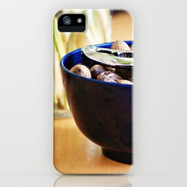 Still Life with Pecans iPhone Case