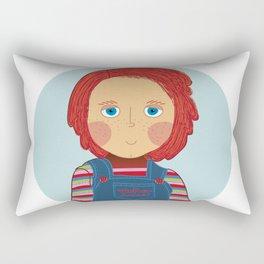 Before being a motherfucker Rectangular Pillow