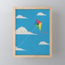 High Flyer Framed Mini Art Print