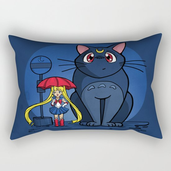 My Neighbor Luna Rectangular Pillow