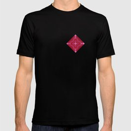 ornament red pink T-shirt