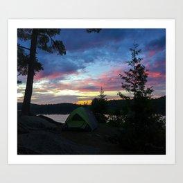 Let Us Sleep Among the Stars - Algonquin Provincial Park Art Print