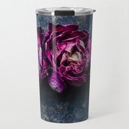Three Rose Buds Travel Mug