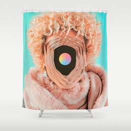 The real face Shower Curtain