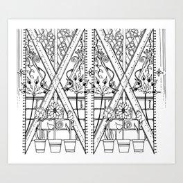 There will always be a secret garden Art Print