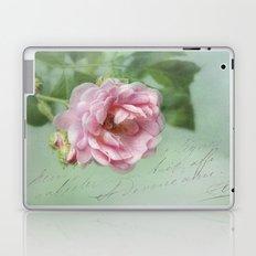 little pink rose Laptop & iPad Skin