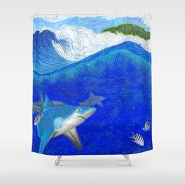 Waterman's Folly Shower Curtain