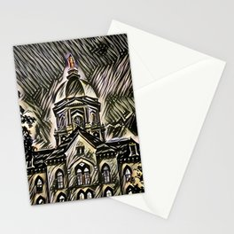 The Golden Dome Stationery Cards
