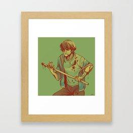 come and get it (supernatural) Framed Art Print