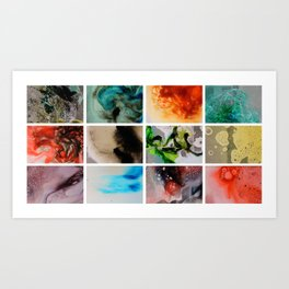 Underwater Elixirs Art Print