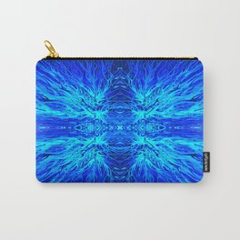 Electric Ocean Sunset by Chris Sparks Carry-All Pouch