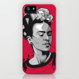 Frida Kahlo - Trinchera Creativa iPhone Case
