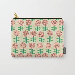 Paper cut flower pattern Carry-All Pouch
