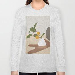 Mandarin Branch Long Sleeve T-shirt