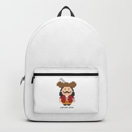 Captain Hook Pixel Character Backpack