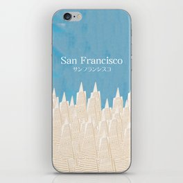 San Francisco TA iPhone Skin