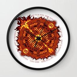 Ifrit Seal Wall Clock