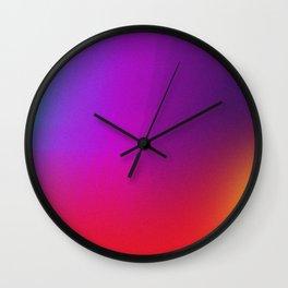 Color Exploration 001 Wall Clock