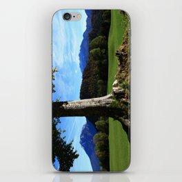 Alpine tree iPhone Skin