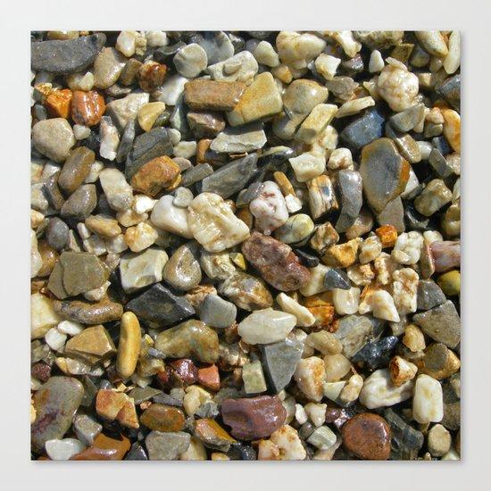 pebble stone I Canvas Print