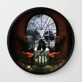 Room Skull Wall Clock