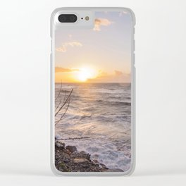 """Sicily, at sunset... that """"smell"""" of saltiness.... Clear iPhone Case"""
