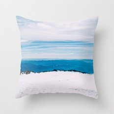 Rainier Summit Throw Pillow