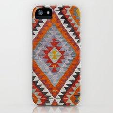 Ikat Rug 2 Multi Slim Case iPhone (5, 5s)