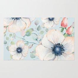 Summer Flowers #society6 #buyart Rug