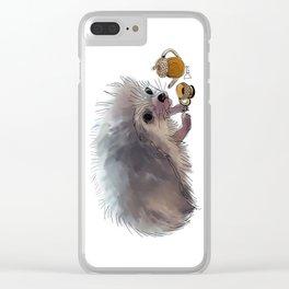 Acorn Tea Clear iPhone Case