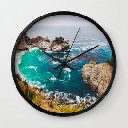 McWay Cove, Big Sur Wall Clock