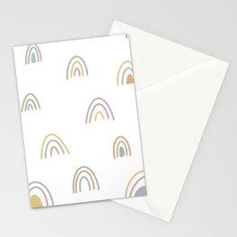 Pastel Rainbow 1 Stationery Cards