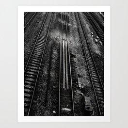Tracks 1 Art Print
