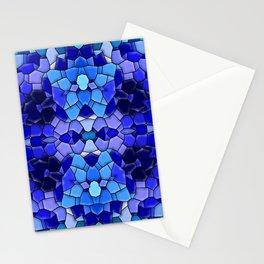 Blue-tones-mosaic ... Stationery Cards