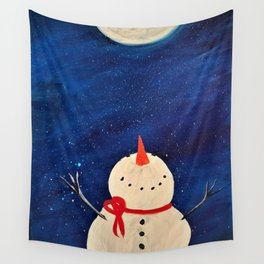 Whimsical Winter Wall Tapestry