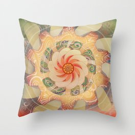 Manipura Throw Pillow