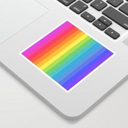Solid Rainbow Sticker