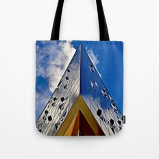 When music touches the sky Tote Bag