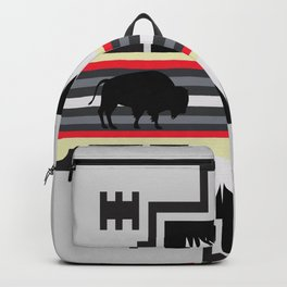 American Native Pattern No. 25 Backpack