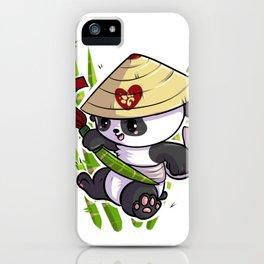 Ninja Panda iPhone Case
