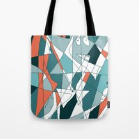 golf Tote Bags featuring Golf by Carmen Navajas