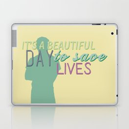 it's a beautiful day Laptop & iPad Skin