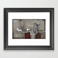 Le sacrifice de Gaia Framed Art Print
