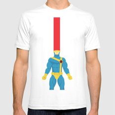 Cyclops MEDIUM White Mens Fitted Tee