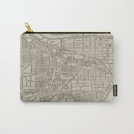 Vintage Map of Augusta GA (1913) Carry-All Pouch