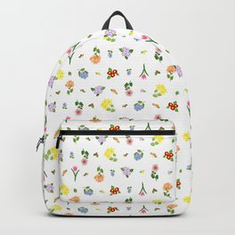 Flowers and More Flowers Backpack
