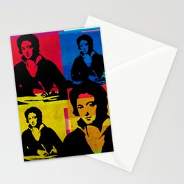 PERCY BYSSHE SHELLEY - ENGLISH POET, 4-UP POP ART COLLAGE Stationery Cards